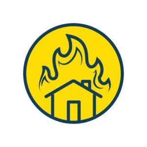 Burned home Michigan